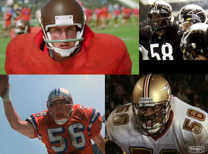 The Ultimate Football Movie Roster – Two in the Box