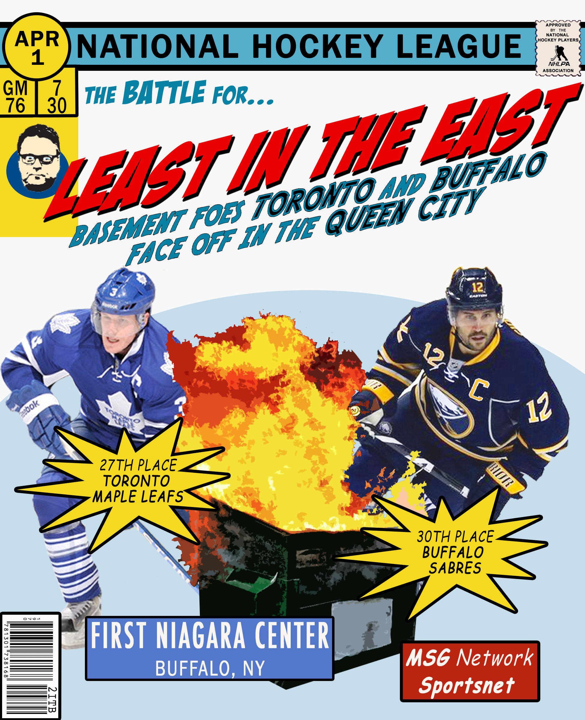 Sabres Gameday Poster Two In The Box