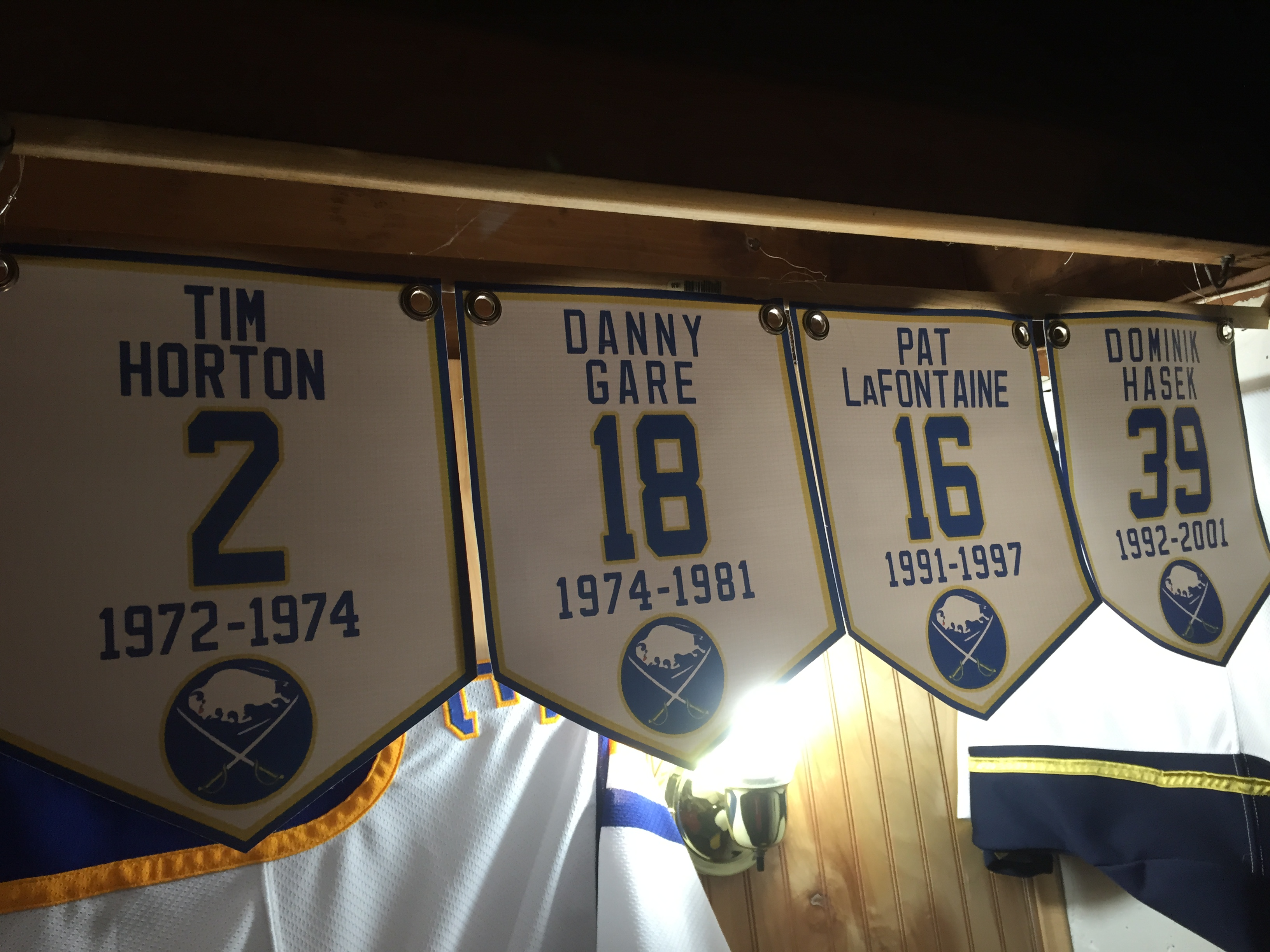 custom retired jersey banners  u2013 two in the box