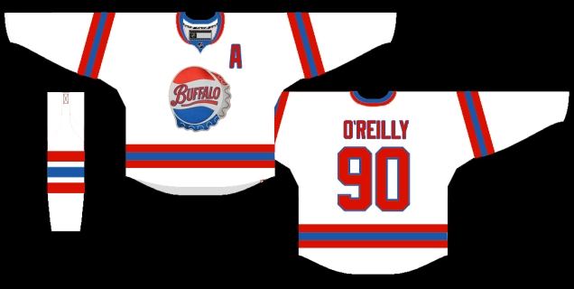 Buffalo Bisons White jersey