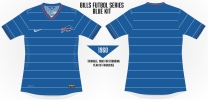 Bills Pinstripes Soccer Concept Blank