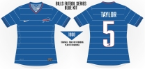 Bills Pinstripes Soccer Concept