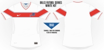 Bills White Soccer Concept 2 Blank