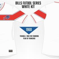 Bills White Soccer Concept 2 Blank