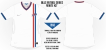 Bills White Soccer Concept Blank
