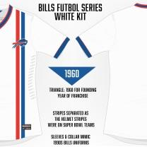 Bills White Soccer Concept Blank