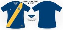 Sabres Blue Soccer Concept 2 Blank