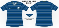 Sabres Hoops Soccer Concept Blank