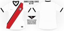 Sabres Alternate Soccer Concept Blank