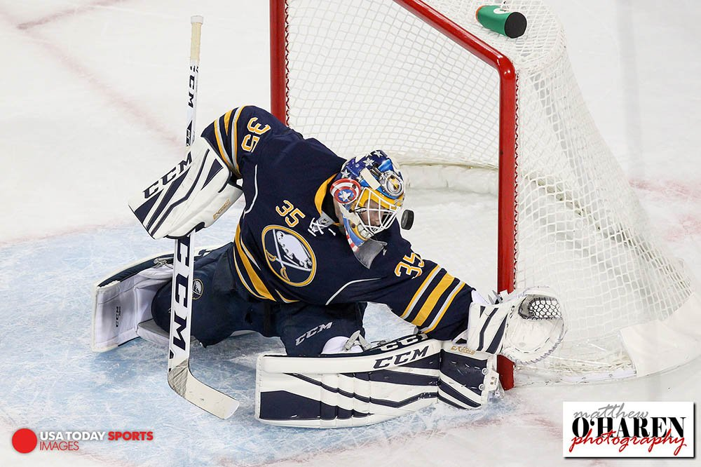 Goalie Gear Watch New Masks And Gear Throughout The Sabres