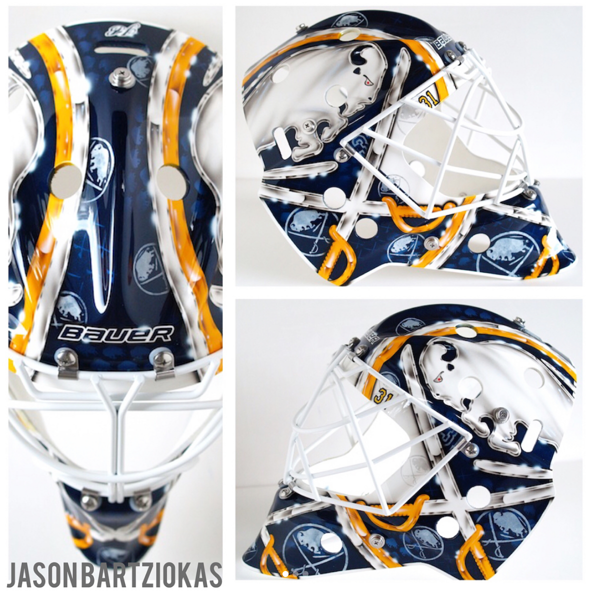 ea51052bb7c Sabres Feature Sharp Masks for 2017-18 – Two in the Box